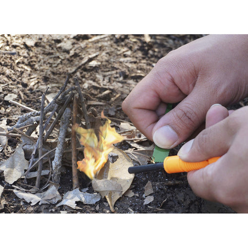 2-IN-1 Flint Fire Starter & Whistle Survival Tool - Cedar Creek Outdoors - 1