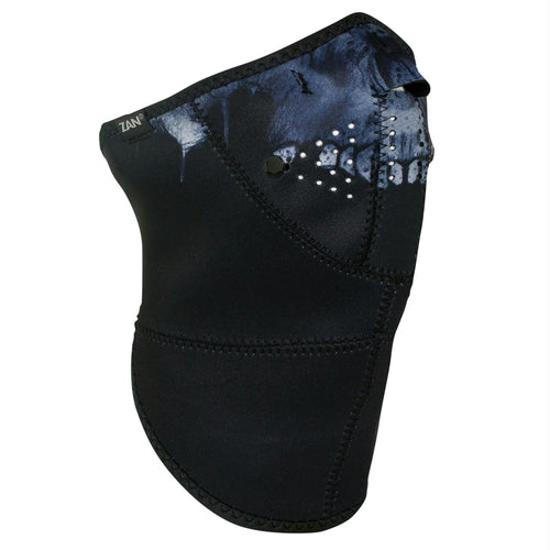 ZANheadgear 3 Panel Neo-X Neoprene Midnight Skull