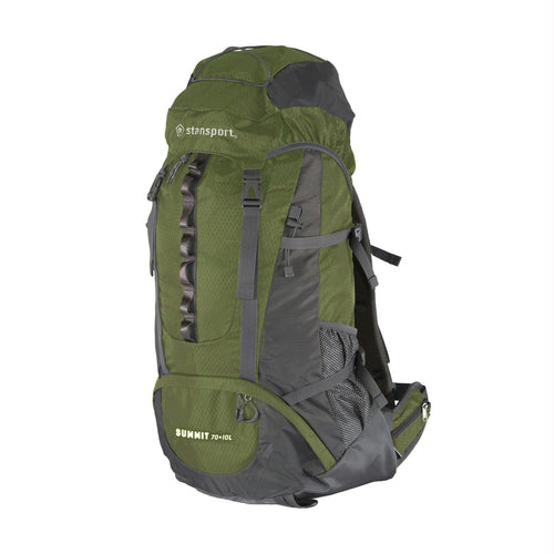 Stansport Internal Frame Pack - 70+10 Liter - Olive