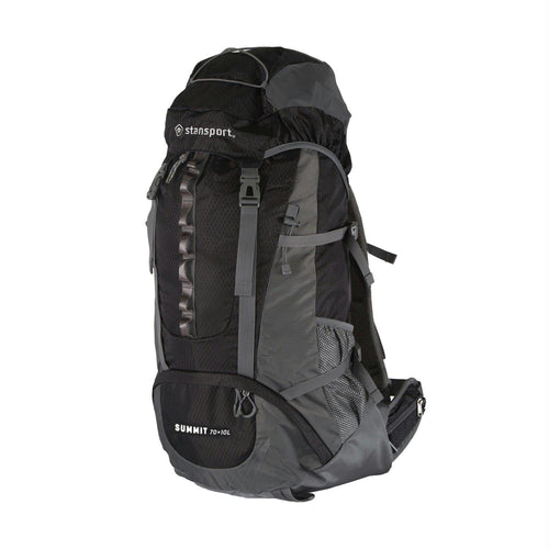 Stansport Internal Frame Pack - 70+10 Liter - Black