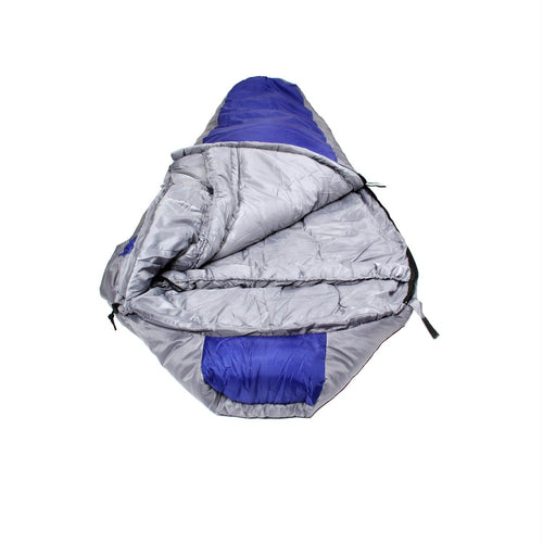 North Star 3.5 CoreTech Sleeping Bag - Blue-Silver
