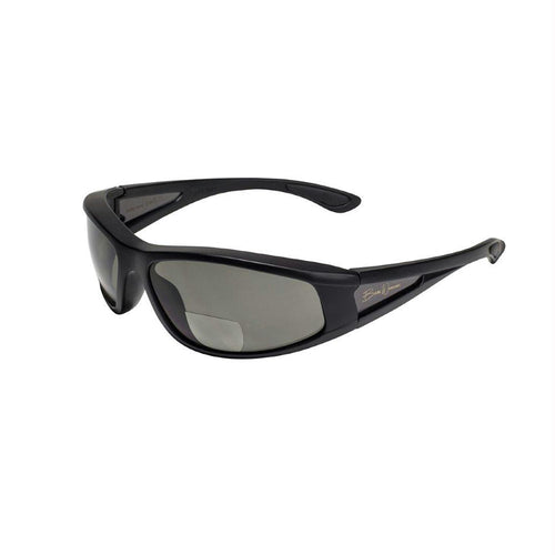 BlueWater Babe 2 Blk Frame w-Gray Polarized Bifocal 1.5 Lens