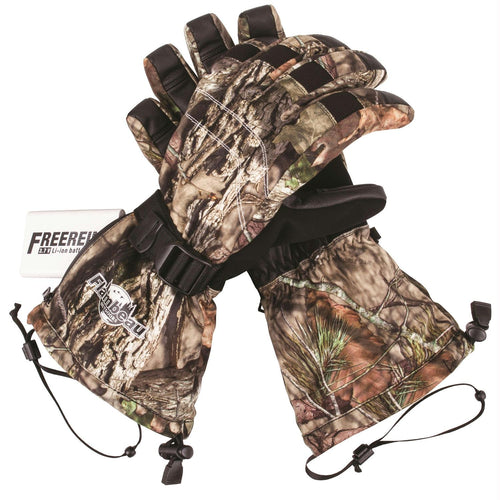 Flambeau Heated Synthetic Palm Gloves Camo - Large