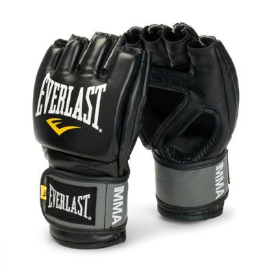 Everlast Pro Style Grappling Gloves Small- Medium Black
