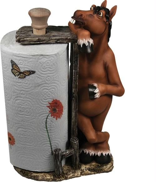 Rivers Edge Horse Paper Towel Holder