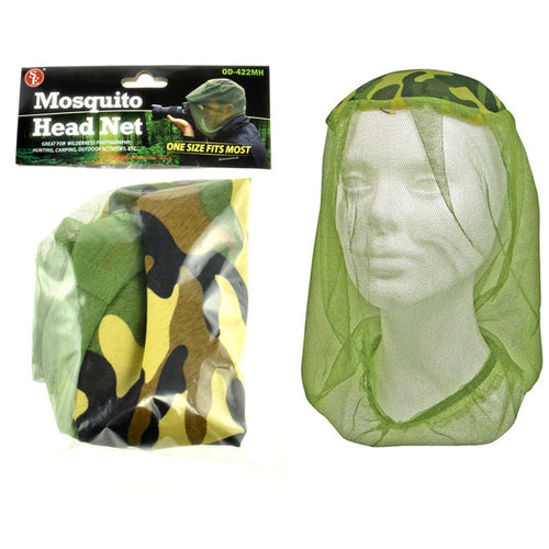 Mosquito Head Net (OD Green) Insect Repellent Net - Cedar Creek Outdoors - 1