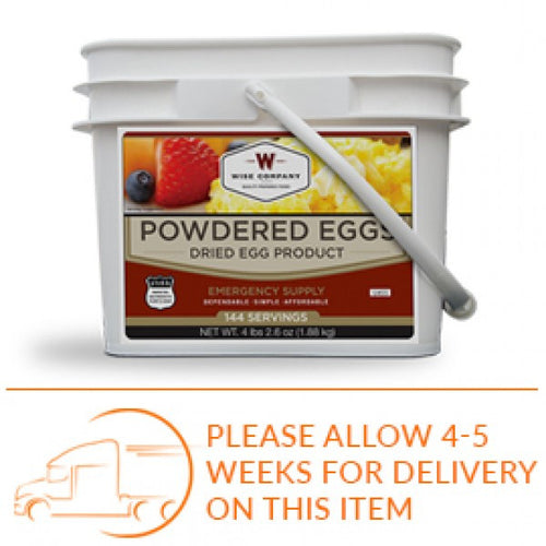 Powdered Eggs (In a Bucket)- 144 Total Servings - Cedar Creek Outdoors - 1