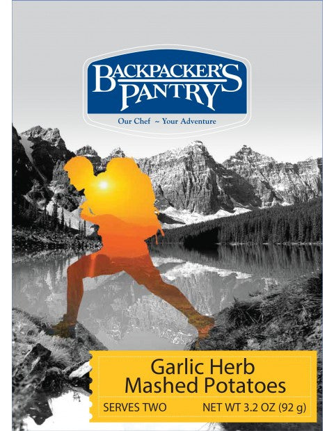 Backpacker's Pantry Garlic Herb Mashed Potatoes