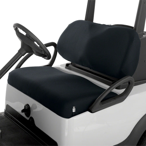 Classic Fairway Golf Cart Diamond Air Mesh Seat Cover Black