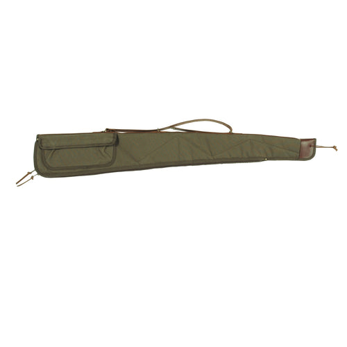 Bob Allen BA2100 Canvas Shotgun Case - 48in Green