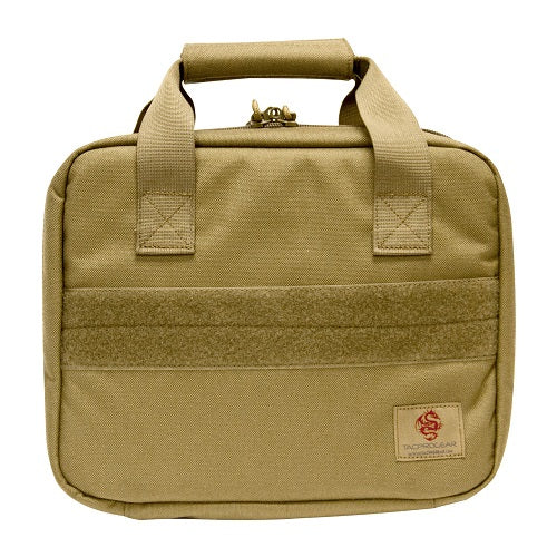 Tacprogear Tactical Pistol Case w/Pistol Wheel - Coyote Tan