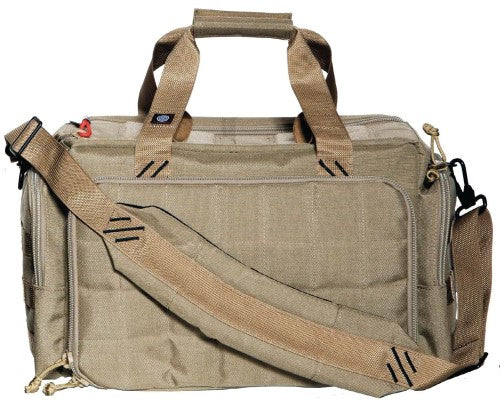 G.P.S. Tactical Range Bag w/Insert Tan GPS-T1813LRT