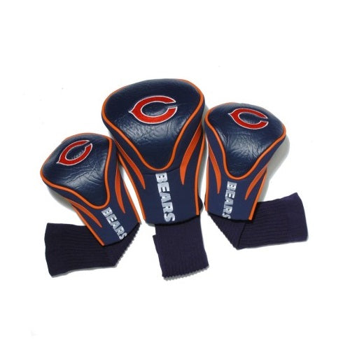 Chicago Bears 3 Pack Golf Contour Sock Headcovers