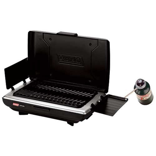 Coleman 1 Burner Portable Grill  Green/Black 2000020930