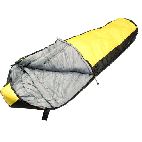 North Star 3.5 CoreTech Sleeping Bag - Yellow/Black