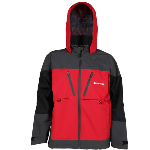 Compass 360 D300 HydroTek Rain Parka-Red/Black/Slate-MD