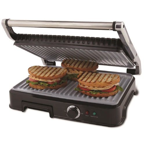 Oster Extra Large DuraCeramic Panini Maker and Indoor Grill