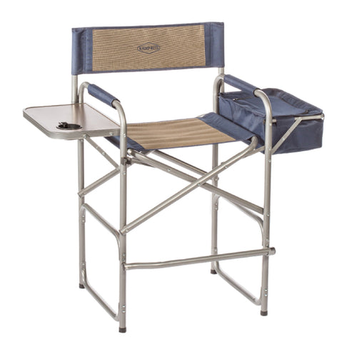 Kamp-Rite High Back Director's Chair w/Table & Cooler