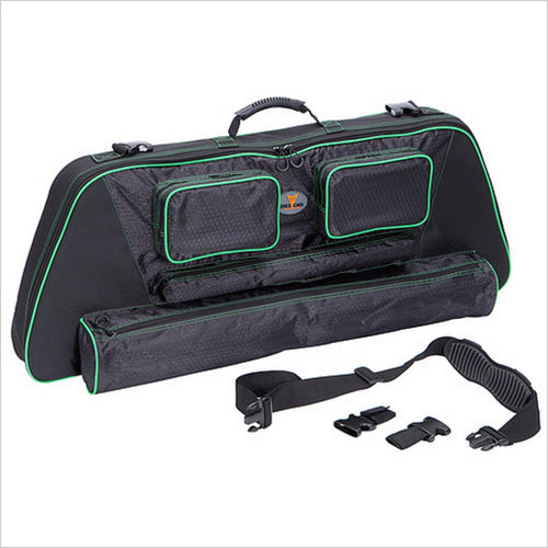 ".30-06 Outdoors 41"" Slinger Bow Case System w/Green Accent"