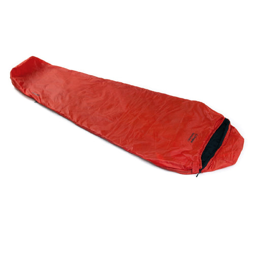 Snugpak Travelpak 1 Sleeping Bag - Flame Red  - LH Zip