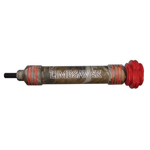 Limbsaver WindJammer Stabilizer 7in. Camo/Red 3079