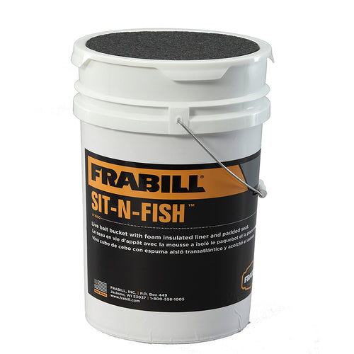 Frabill Sit-N-Fish Bucket 160024