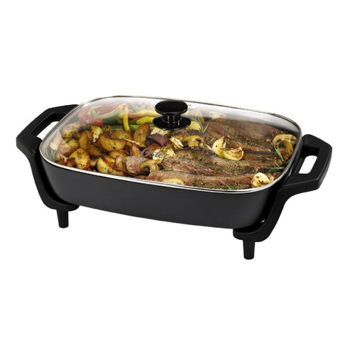 Oster 12inx16in Electric Skillet - Black