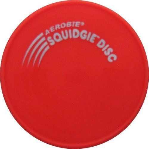 "Red 8"" Aerobie Squidgie Disk The Worlds Best Flying Disk Made in USA - Cedar Creek Outdoors - 1"
