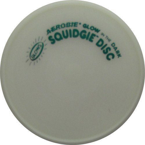 "Glow In The Dark 8"" Aerobie Squidgie Disk The Worlds Best Flying Disk Made in USA - Cedar Creek Outdoors - 1"