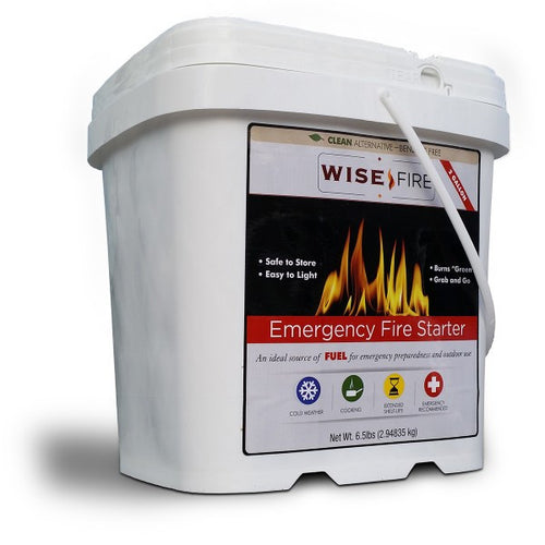 2 Gallon Bucket - Wise Fire Starter - Cedar Creek Outdoors
