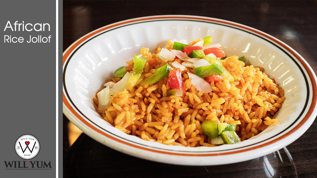 WillYUM Spice Recipe: African Rice Jollof