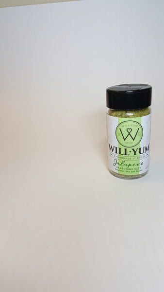 WillYUM Spice Sweatshirt w/ Jalapeno Seasoning Salt 2oz.