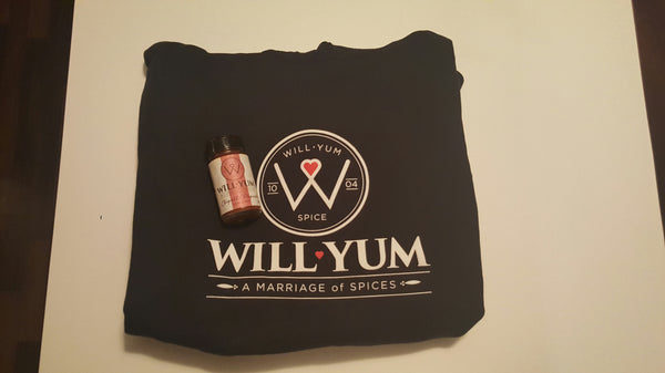 WillYumSpice Sweatshirt w/ 2oz Chipotle Paprika