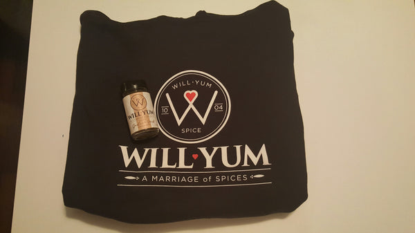 WillYumSpice Sweatshirt w/ 2oz Savory Garlic and Herb