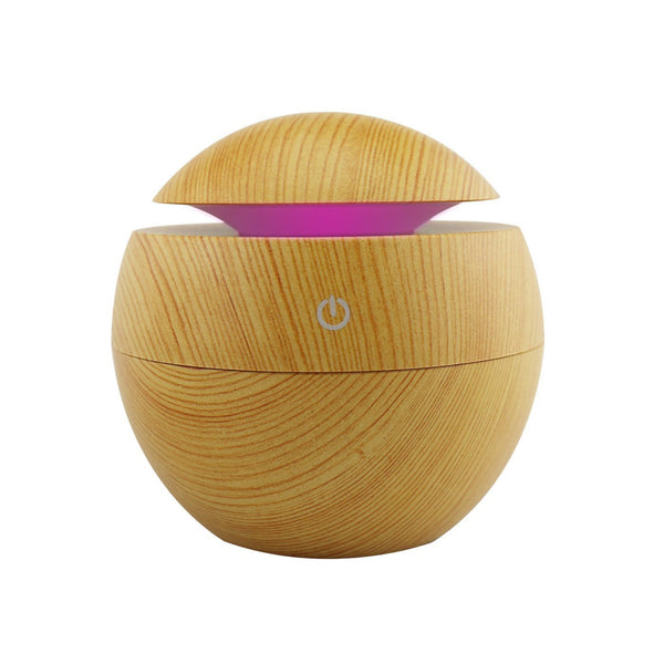 USB Aroma Essential Oil Diffuser Humidifier Air Purifier 7 Color Change