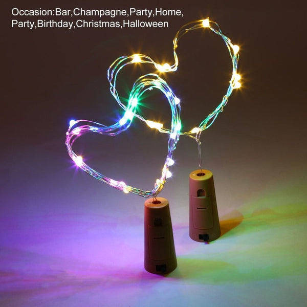 LED Bottle Stopper Decorative Light