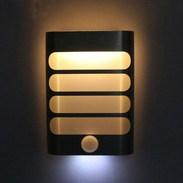 Rechargeable LED Wireless Wall Lamp With Motion Sensor Light Auto On/Off