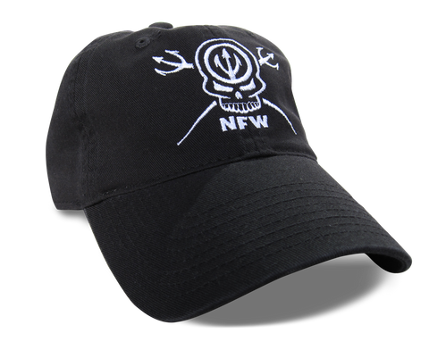 NFW Skull and Tridents Hat, Black