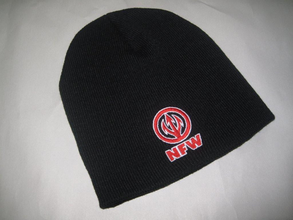 NFW Original Logo Hat, Black Beanie