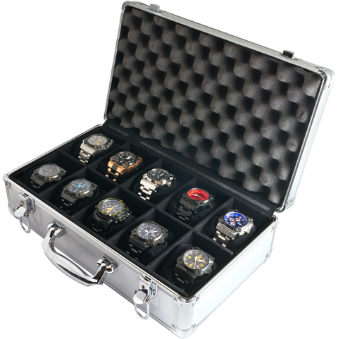 10-Watch Collector Case