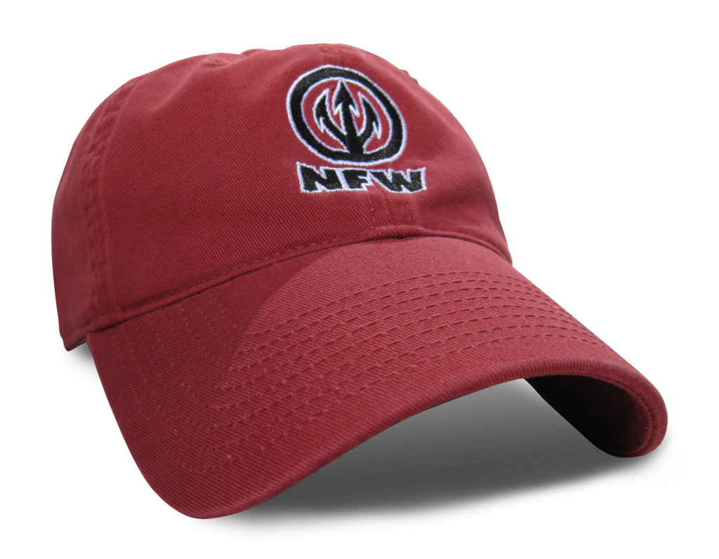 NFW Trident Logo Hat, Red