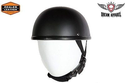 MOTORCYCLE FLAT BLACK E-Z RIDER NOVELTY HELMET BLACK NOT W/CHIN STRAP NOT DOT