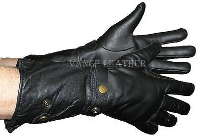 MOTORCYCLE BIKE GLOVES RIDING GLOVE INSULATED LONG GLOVES UNISEX