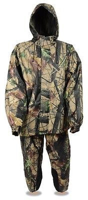 MOTORCYCLE MEN'S CAMOUFLAGE WATERPROOF JUNGLE MULTICOLOR RAINSUIT HEAVY MATERIAL