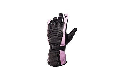 WOMEN'S FULL FINGER GENUINE LEATHER INSULATED GLOVES WITH KNUCKLES. BUTTER SOFT