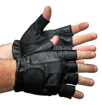 MOTORCYCLE BIKE GLOVES RIDING GLOVE GEL PALM SHORTY GLOVES UNISEX