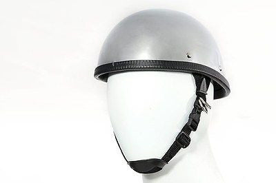 CHROME EAGLE NOVELTY MOTORCYCLE MOTORBIKE HELMET FIBER GLASS NOT DOT
