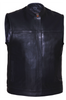 Mens Updated Son of Anarcy Ultra Premium Cow Hide Renegade Leather Vest