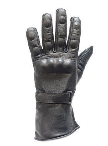 MEN'S BUTTER SOFT LONG GUANTLET W/GEL PALM & HARD KNUCKLE PROTECTION VERY SOFT
