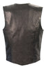 MOTORCYCLE LADIES CLASSIC SNAP BUTTON VEST WITH 2 GUN POCKETS INSIDE